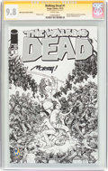 Modern Age (1980-Present):Horror, Walking Dead #1 Wizard World Austin Sketch Edition - SignatureSeries (Image, 2015) CGC NM/MT 9.8 White pages....