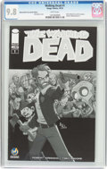Modern Age (1980-Present):Horror, Walking Dead #1 Wizard World Tulsa Sketch Edition (Image, 2015) CGCNM/MT 9.8 White pages....