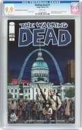 Modern Age (1980-Present):Horror, Walking Dead #1 Wizard World St. Louis Edition (Image, 2015) CGC MT9.9 White pages....