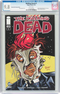 Modern Age (1980-Present):Horror, Walking Dead #1 Wizard World Raleigh Edition (Image, 2015) CGCNM/MT 9.8 White pages....