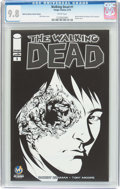 Modern Age (1980-Present):Horror, Walking Dead #1 Wizard World Des Moines Sketch Edition (Image,2015) CGC NM/MT 9.8 White pages....