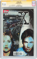 Modern Age (1980-Present):Science Fiction, The X-Files #27 Signature Series (Topps Comics, 1997) CGC NM+ 9.6White pages....