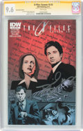 Modern Age (1980-Present):Science Fiction, The X-Files: Season Ten #3 Subscription Edition (IDW Publishing,2013) CGC NM+ 9.6 White pages....