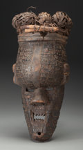 Tribal Art, SALAMPASU, Democratic Republic of the Congo . Mask...