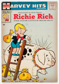 Silver Age (1956-1969):Humor, Harvey Hits #3 Richie Rich (Harvey, 1957) Condition: VG....