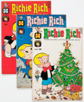 Silver Age (1956-1969):Humor, Richie Rich Group of 9 (Harvey, 1962-63) Condition: Average FN-.... (Total: 9 Comic Books)