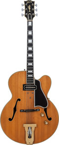 Musical Instruments:Electric Guitars, 1959 Gibson L5-C Natural Archtop Electric Guitar, Factory OrderNumber R3912 2, Weight: 7 lbs....
