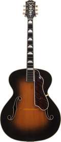 Musical Instruments:Acoustic Guitars, 1947 Epiphone Deluxe Sunburst Archtop Acoustic Guitar, Serial #56334....