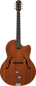 Musical Instruments:Acoustic Guitars, 1984 Jacques Favino Natural Archtop Acoustic Guitar....