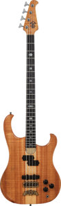 Musical Instruments:Bass Guitars, 1987 Alembic Persuader Natural Electric Bass Guitar, Serial # 87F4254, Weight: 8.6 lbs....