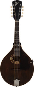 Musical Instruments:Banjos, Mandolins, & Ukes, 1921 Gibson A-2 Brown Mandolin, Serial # 63940....