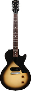 Musical Instruments:Electric Guitars, 2013 Gibson Les Paul Junior Billy Joe Armstrong Solid Body ElectricGuitar, Serial # 025460559, Weight: 7.8 lbs....