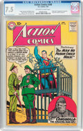 Silver Age (1956-1969):Superhero, Action Comics #248 (DC, 1959) CGC VF- 7.5 Off-white to whitepages....