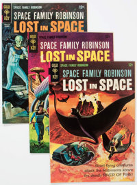 Space Family Robinson #15 and 17-24 Group (Gold Key, 1966-68) Condition: Average VF+.... (Total: 9 Comic Books)