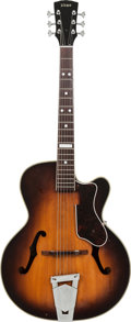 Musical Instruments:Electric Guitars, 1959 Vega Model 201 Sunburst Archtop Electric Guitar, Serial #10381, Weight: 6 lbs....