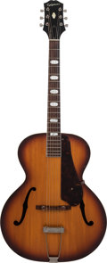 Musical Instruments:Acoustic Guitars, 1964 Epiphone Zenith Sunburst Archtop Acoustic Guitar, Serial #167003....