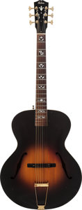 Musical Instruments:Acoustic Guitars, 1932 Gibson L-12 Sunburst Archtop Acoustic Guitar, Serial # 90931....