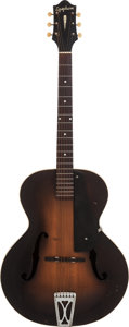 Musical Instruments:Electric Guitars, 1939 Epiphone Zenith Sunburst Archtop Guitar, Serial # 13739....