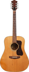 Musical Instruments:Acoustic Guitars, 1978 Guild D-35 Natural Acoustic Guitar, Serial # 182736....