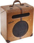 Musical Instruments:Amplifiers, PA, & Effects, Circa 1939 Gibson EH-185 Tweed Guitar Amplifier, Serial # 14542....