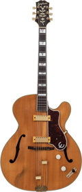 Musical Instruments:Electric Guitars, 1951 Epiphone Zephyr Regent Natural Archtop Electric Guitar, Serial# 61919, Weight: 7.0 lbs....