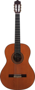 Musical Instruments:Acoustic Guitars, 1989 Jose Ramirez 1E Natural Classical Guitar, Serial # 893376....