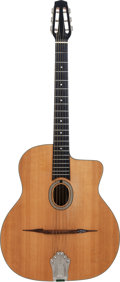 Musical Instruments:Acoustic Guitars, 1969 Favino Gypsy Jazz Natural Acoustic Guitar, Serial # 138....