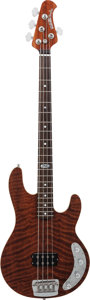 Musical Instruments:Bass Guitars, 2000's Ernie Ball Music Man Ball Family Reserve StingRay Natural Electric Bass Guitar, Serial # E55844, Weight: 10 lbs....