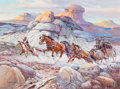 Fine Art - Painting, American:Contemporary   (1950 to present)  , Alberto Vela (American, 1920-2006). No Name. Oil on canvas. 30 x 40 inches (76.2 x 101.6 cm). Signed lower left: Alber...