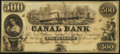 Obsoletes By State:Louisiana, New Orleans, LA-New Orleans Canal & Banking Company $500 18__...