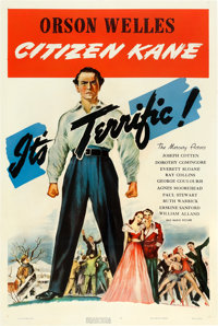 "Citizen Kane (RKO, 1941). One Sheet (27"" X 41"") Style A"