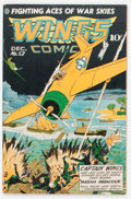 Golden Age (1938-1955):War, Wings Comics #52 (Fiction House, 1944) Condition: VF....