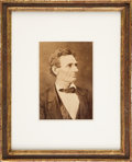 Photography:Cabinet Photos, Abraham Lincoln: Hesler Cabinet Card....
