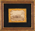 Photography:Cabinet Photos, Abraham Lincoln: Mounted Antietam Albumen....