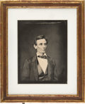 Photography:Studio Portraits, Abraham Lincoln: Black & White Copy Image....