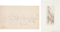 [Harper's Weekly] Original Civil War Sketches: Signal Corps