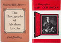 Books:Americana & American History, Abraham and Mary Todd Lincoln: Photographic Reference Books....(Total: 2 Items)