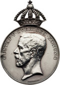 Miscellaneous Collectibles:General, 1912 Stockholm Summer Olympics Silver Medal of Merit....