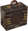 Musical Instruments:Amplifiers, PA, & Effects, 1938 Gibson EH-100 Brown Guitar Amplifier, Serial # 6654....