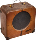 Musical Instruments:Amplifiers, PA, & Effects, 1939 Gibson EH-150 Tweed Guitar Amplifier, Serial # 8159....