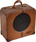 Musical Instruments:Amplifiers, PA, & Effects, 1939 Gibson EH-150 Tweed Guitar Amplifier, Serial # 8129....