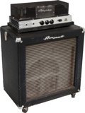 Musical Instruments:Amplifiers, PA, & Effects, 1966 Ampeg SB12 Navy Blue Guitar Amplifier, Serial # 049858....