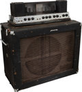 Musical Instruments:Amplifiers, PA, & Effects, 1966 Ampeg B18X Navy Blue Guitar Amplifier, Serial # 045926....