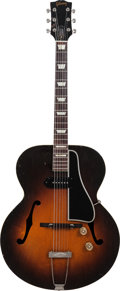 Musical Instruments:Electric Guitars, 1950 Gibson ES-150 Sunburst Archtop Electric Guitar, Serial # 41037, Weight: 6 lbs....