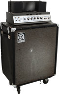 Musical Instruments:Amplifiers, PA, & Effects, 1969 Ampeg B-15 N Black Guitar Amplifier, Serial # 089937....