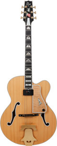 Musical Instruments:Electric Guitars, 1994 Heritage American Eagle Natural Acoustic Electric Guitar, Serial # 18, Weight: 6.6 lbs....