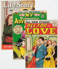 Silver Age (1956-1969):Romance, Comic Books - Silver Age Romance Comics Group of 7 (VariousPublishers, 1950s-60s) Condition: Average GD.... (Total: 7 ComicBooks)