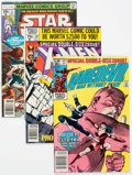Modern Age (1980-Present):Miscellaneous, Marvel Modern Age Comics Group of 34 (Marvel, 1980s) Condition: Average VF.... (Total: 34 Comic Books)