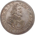 German States:Augsburg, German States: Augsburg. Free City Taler 1642 MS62 NGC,...