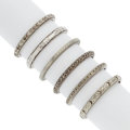 Estate Jewelry:Rings, Art Deco Gentleman's White Gold Rings. ... (Total: 6 Items)